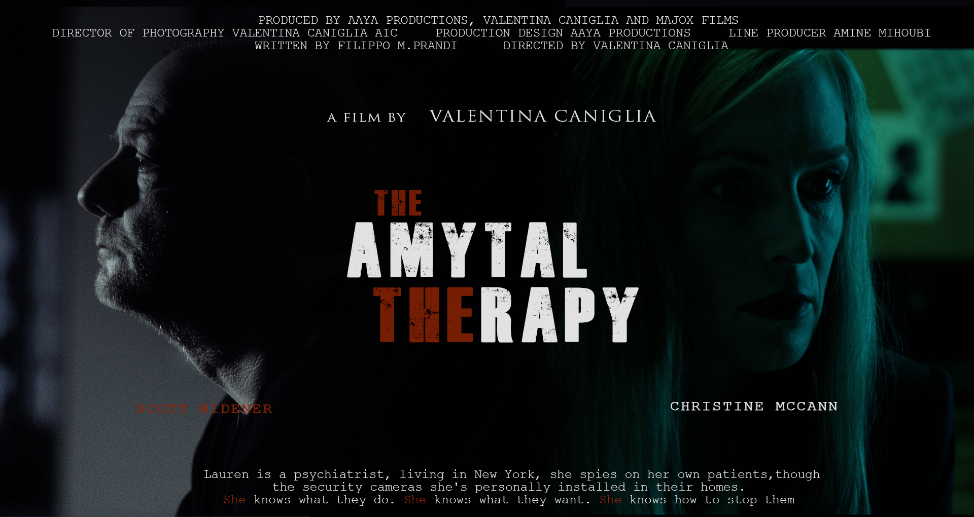 The Amytal Therapy Movie Poster 2017